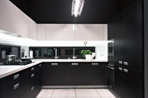 picture of a modern modular kitchen